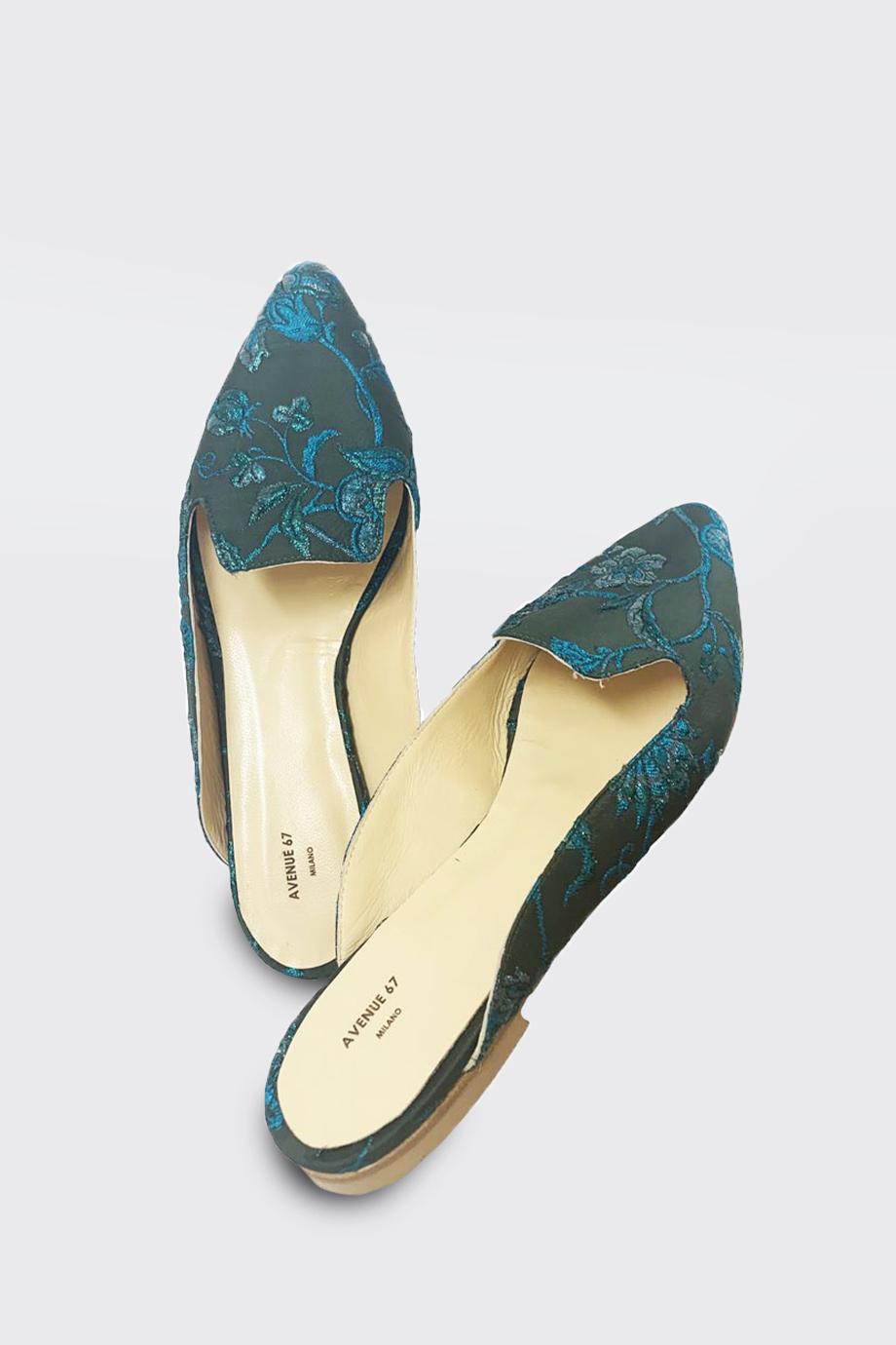 arabesque slipper turchese avenue 67