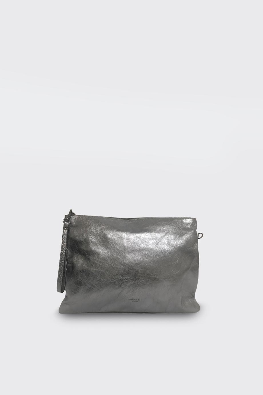 mini bag Joplin crackle argento avenue 67