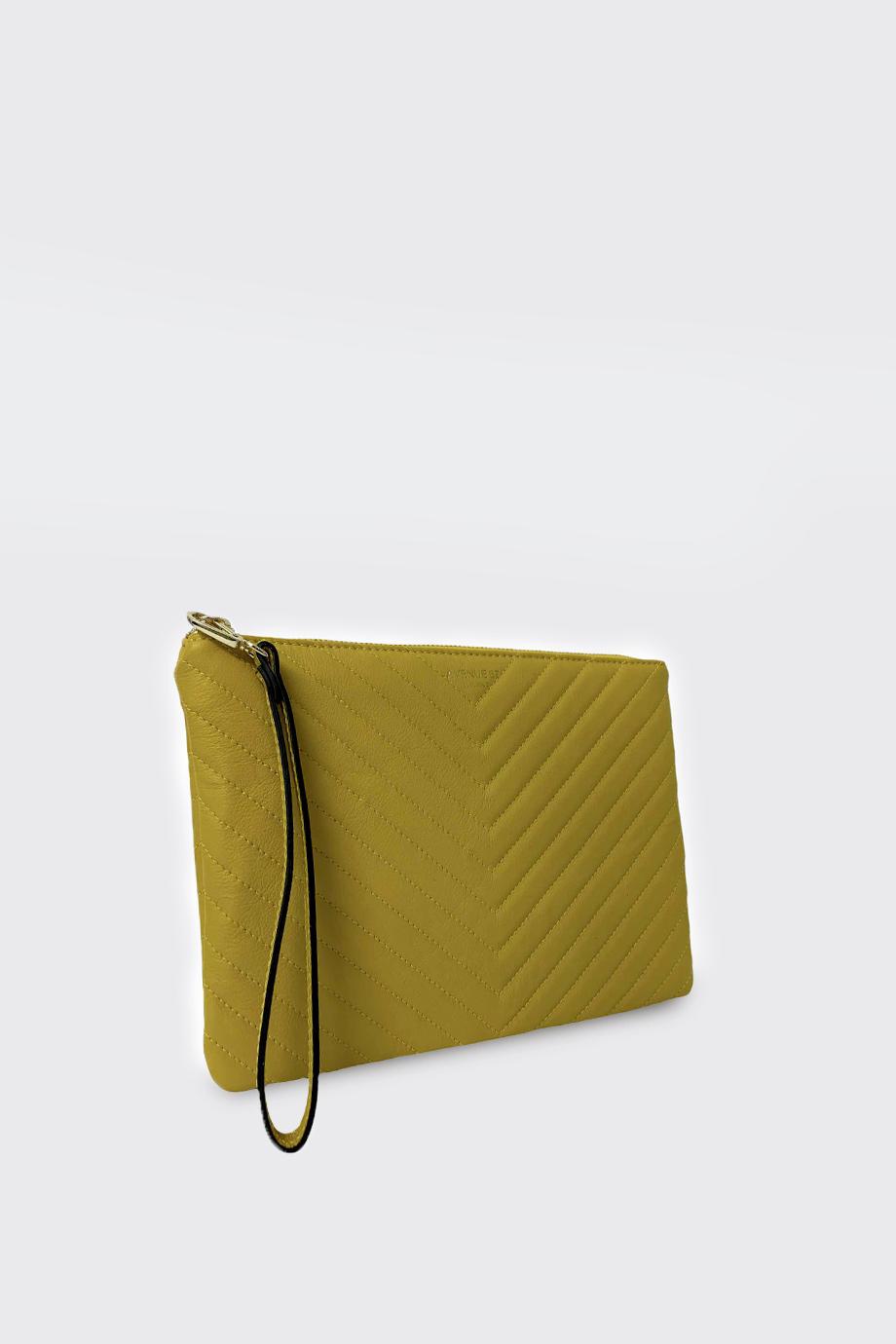 mini bag Tina wave senape avenue 67