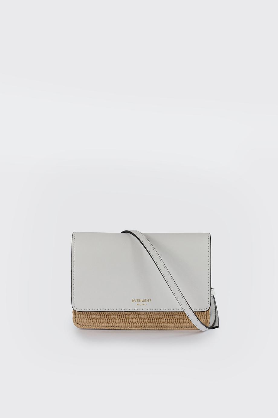 mini travel bag bianco avenue 67