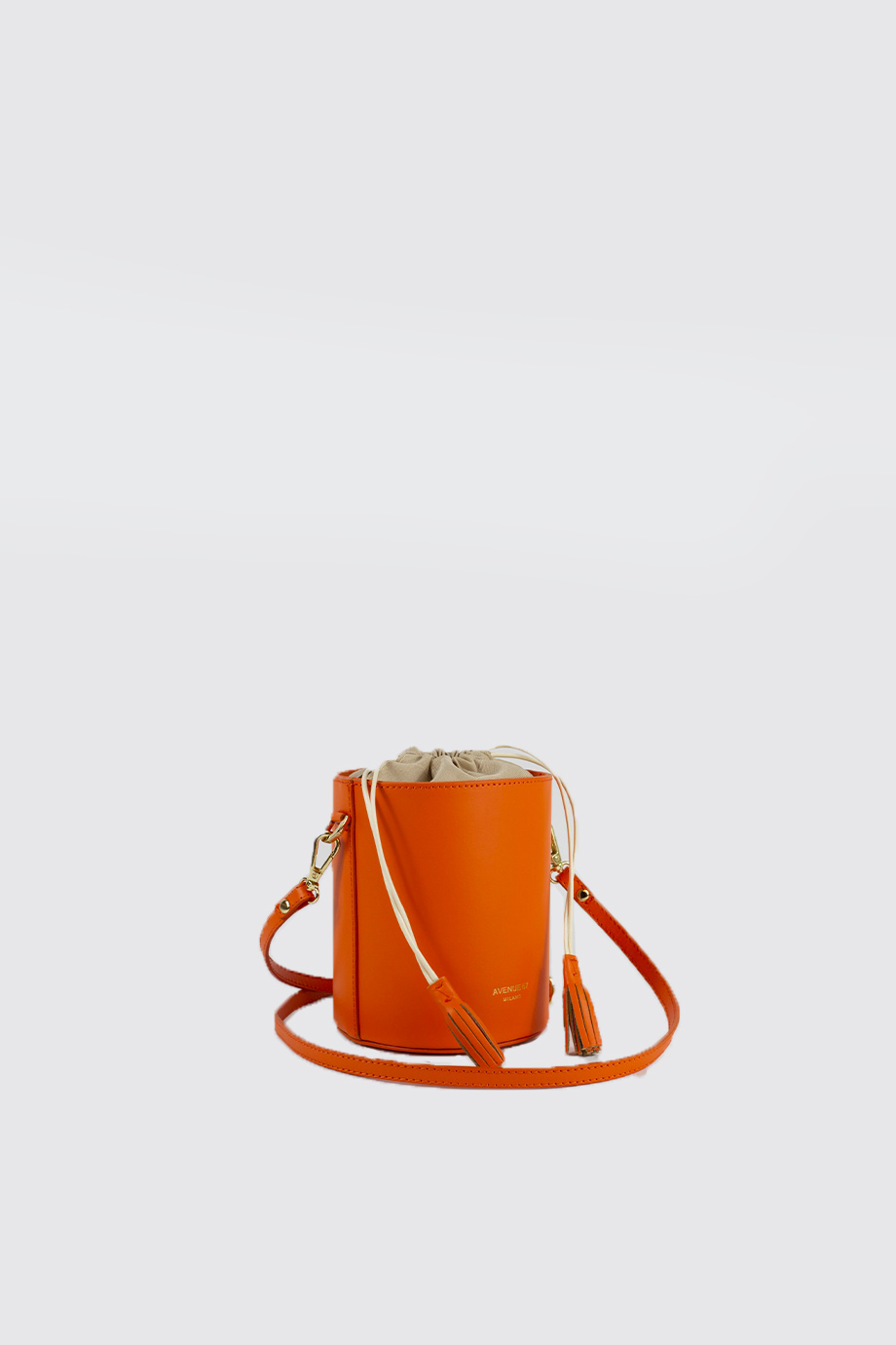 borsa sara arancione avenue 67
