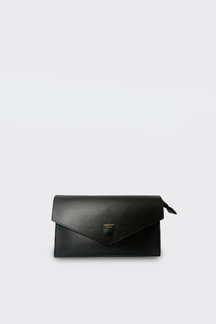 borsa pochette camilla nero avenue 67