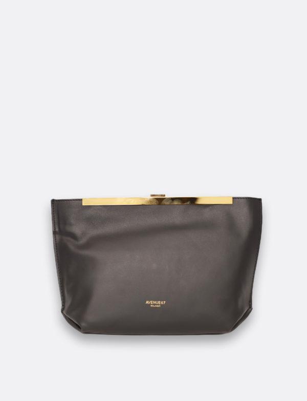 clutch bag guia grigio avenue 67
