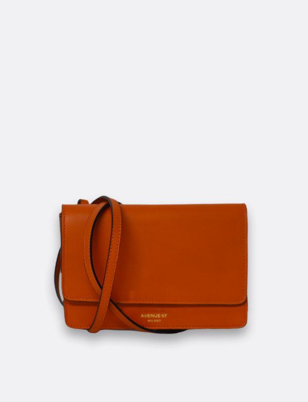 mini bag travel vit arancione avenue 67